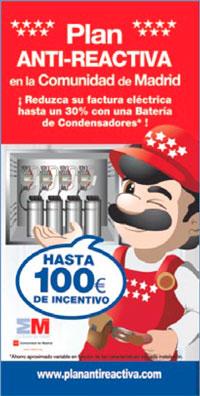 Plan anti-energía reactiva en comunidades de vecinos de la Comunidad de Madrid